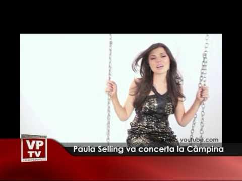 Paula Selling va concerta la Câmpina