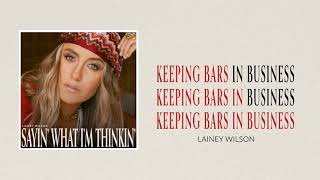 Lainey Wilson Keeping Bars In Business