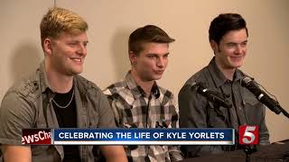 Kyle Yorlets: Belmont holds memorial for musician shot, killed during robbery