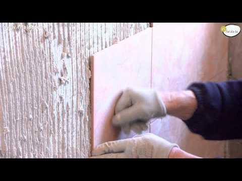 Come posare le piastrelle a parete parte 1