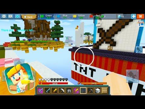 Blockman GO: Blocky Mods - Sky Royale Gameplay (Top Game)