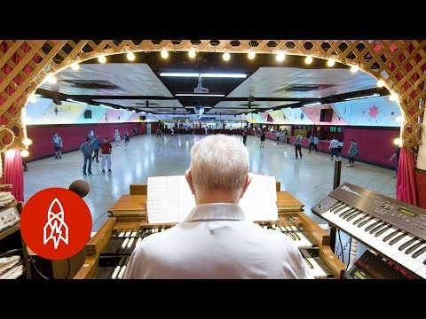 Groovy Retro Roller Rink with Live Music