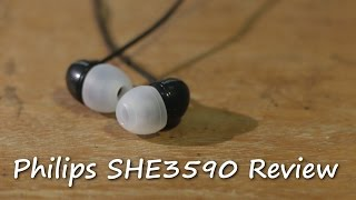 Philips SHE3590 Earbuds Review