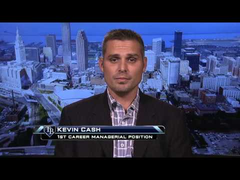 An interview with Kevin Cash, new manager of the Tampa Bay Rays
