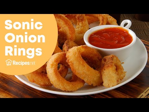 Original Sonic Onion Ring Recipe