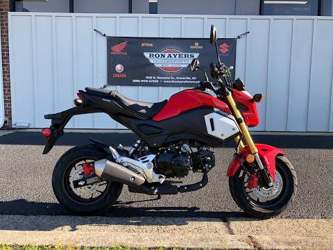 2019 Honda Grom ABS in Greenville, North Carolina - Video 1
