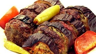 fırında patlıcan kebabı tarifi  patlıcanlı köfte