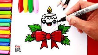 Como Dibujar Vela Para Navidad 免费在线视频最佳电影电视节目