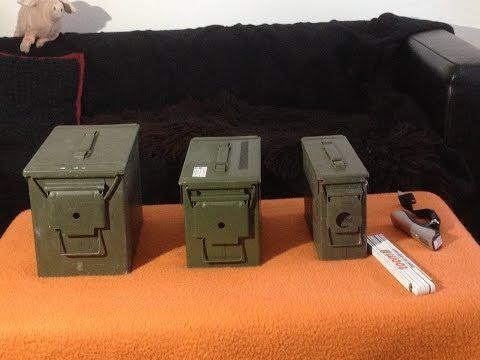 Die BW Munitionskisten im Review Ammo Can