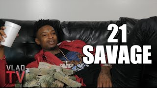 Video 21 Savage On No Plug Killing Bankroll Fresh: They Tried To Paint Him A Hater
