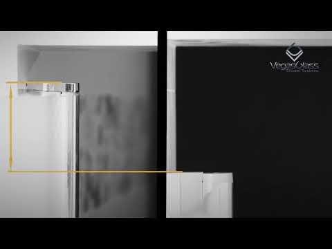 Шторка на ванну Vegas Glass EV Lux 0075 01 01 L профиль белый, стекло прозрачное