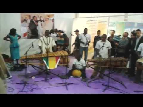SIAM 2014 Pôle International  groupe musicale Neba Solo du Mali 2