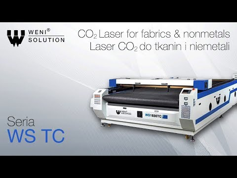 Laser CO2 Do tkanin i niemetali / CO2 Laser for fabrics and nonmetals - zdjęcie