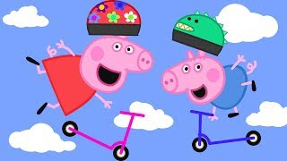 Peppa Pig Full Episodes | Scooters  Peppa Pig Official