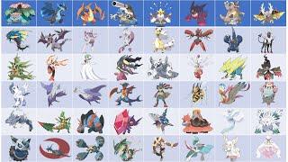 Coloring All Mega Pokemon - Pokemon Coloring Book