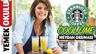Starbucks - Cool Lime - (Challenge) Meydan Okuması | Evde Daha Lezzetli ve Ucuz Cool Lime Tarifi