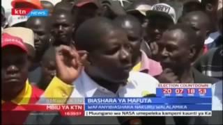 Wanabiashara Nakuru walalamika; Biashara ya mafuta