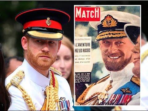 Королевское сходство: принц Гарри и дедушка Филипп, герцог Эдинбургский