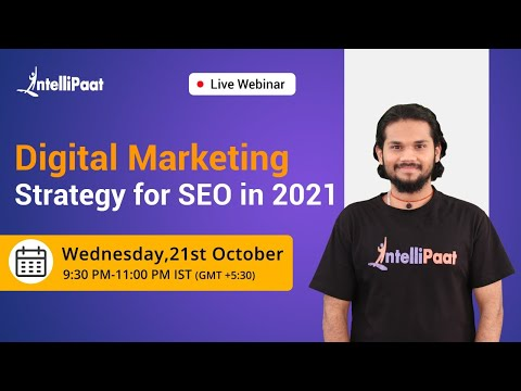 SEO Strategy for 2021 | SEO for Beginners | Intellipaat