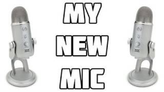 GAM3VIDZ - New Mic - Blue Yeti