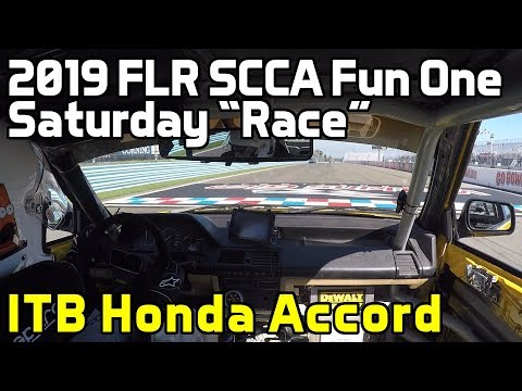 "2019 Fun One: ITB Honda Accord, Saturday ""Race"""