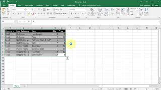 How to Remove a Table from Excel