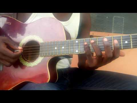 Nigerian Groove on the guitar