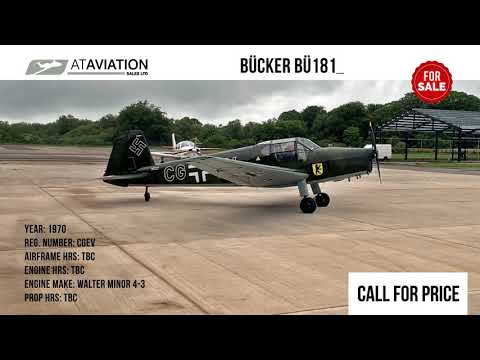 Bücker Flugzeugbau BU 181 Bestmann (SOLD)