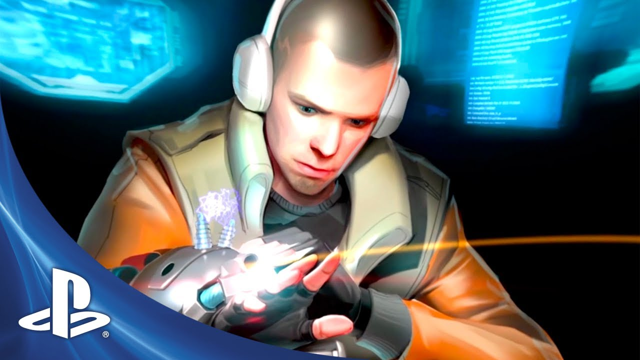 Magrunner: Dark Pulse on PS3 is a Lovecraftian Cyberpunk Puzzler