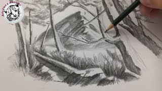 Como Dibujar Montanas Realistas Videos