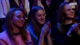 Парни порвали зал ! )))  Кашевой и Зеленский плачут от смеха ))