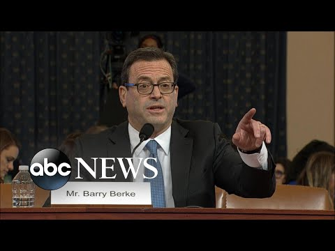 Dem attorney delivers opening statement at impeachment hearing   ABC News