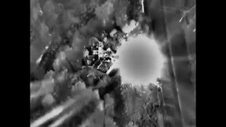 Сирия самолет ВКС РФ распылил отряд террористов на молекулы