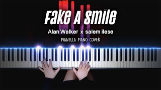 Alan Walker x salem ilese - Fake A Smile | Piano Cover by Pianella Piano