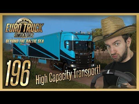 HIGH CAPACITY TRANSPORT! | Euro Truck Simulator 2 #196