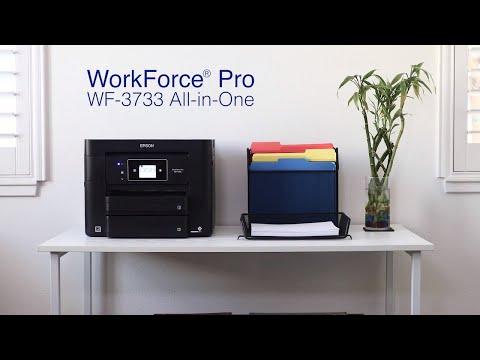 WorkForce Pro WF-3733 All-in-One Printer | Epson Customer