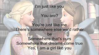 I'm a Girl Like You- Barbie as the Princess and the Pauper w/ Lyrics