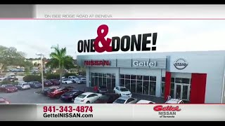 """<h5>Gettel Nissan """"One Pay Lease""""</h5>"""
