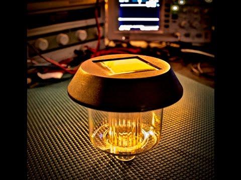 Solar Light Circuit Explanation! Clever little design...