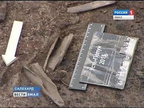 Последний полевой сезон на Усть-Полуе окончен интересной находкой