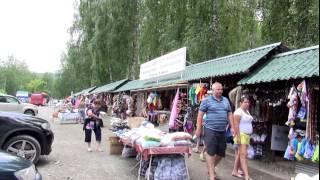 Поездка на Горный Алтай (июль 2015).Гуляем по деревне Катунь