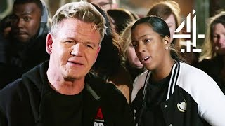 Ramsay SPEECHLESS After Chef Insults His Palate! | Ramsay's 24 Hours to Hell and Back