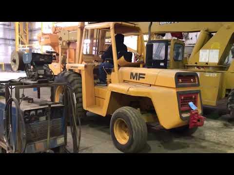 MASSEY FERGUSON MODEL MF6500 6,500-Lbs. Capacity Diesel Powered ...