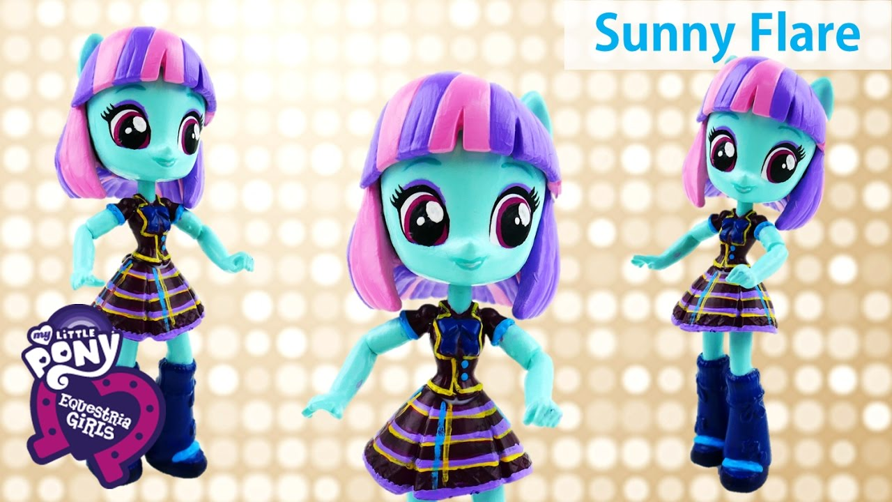 DIY My Little Pony Sunny Flare Shadowbolts Friendship Games Equestria Girls Minis Doll