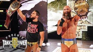 NXT TakeOver (Phoenix): Con las manos en alto Ciampa y Gargano como Campeones principales (VIDEOS)
