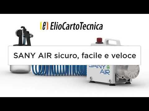 Sany Air: sanifica velocemente le aule, i corridoi, le palestre e tutti i locali della scuola