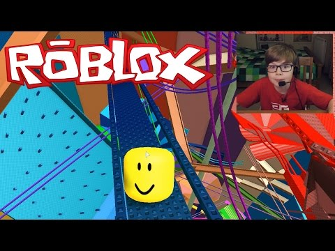 I AM A MARBLE!! ROBLOX Mega Marble Run Pit | Kid Gaming