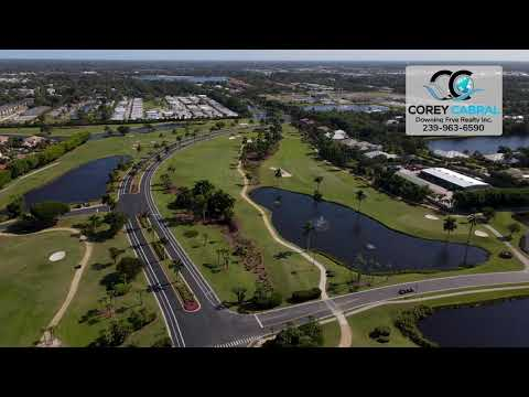 Windstar Golf & Country Club Naples FL 360 Aerial Real Estate Homes & Condos