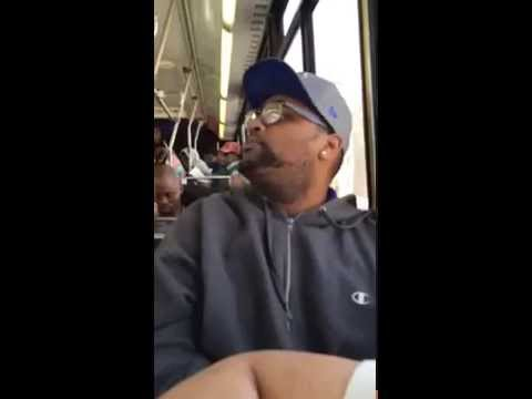 Lady gets mad at bus driver for helping wheelchair bound lady onboard the bus. Bants ensues.