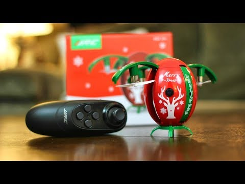 Christmas Drone to Put You in the Holiday Mood - JJRC H66 X-MAS EGG - TheRcSaylors
